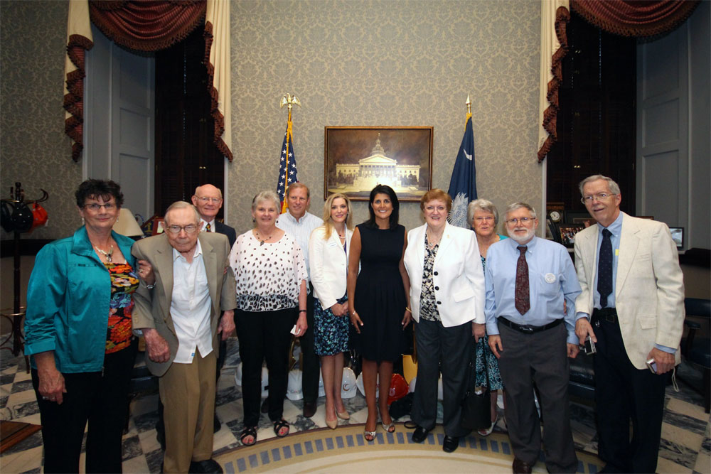 Meeting with Governor Haley on April 24, 2014