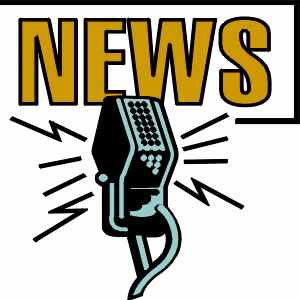 "Image of microphone and text of ""NEWS"""